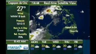 Parasat Weather Update Cagayan de Oro City: July 16, 2012
