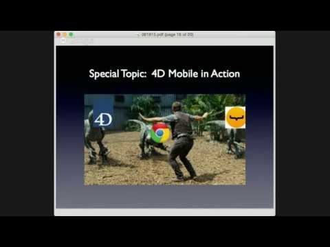 4DMethod #8 | 4D Mobile In Action, David Robbins
