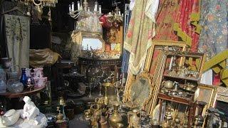 Блошиный рынок в Праге. Prague flea market.