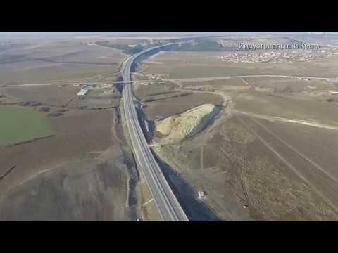 Смотреть Трасса Дубки-Левадки. Скоро открытие? Февраль 2019 онлайн
