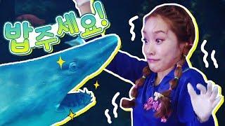 상어가 오징어를 먹어요!! 어린이 직업체험 바쁘다 바빠…