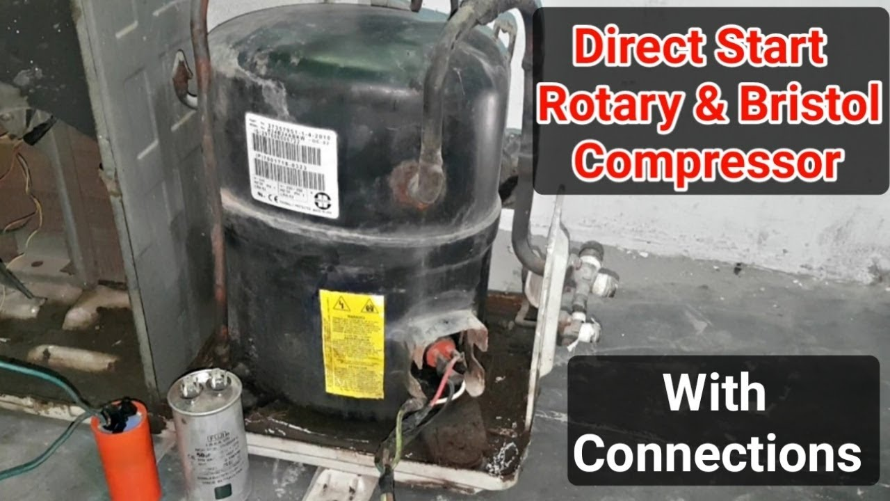 Direct start rotary and Bristol type compressor - YouTubeYouTube