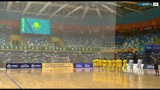 Анонс Футзал Отборочный турнир EURO 2022 Беларусь Казахстан