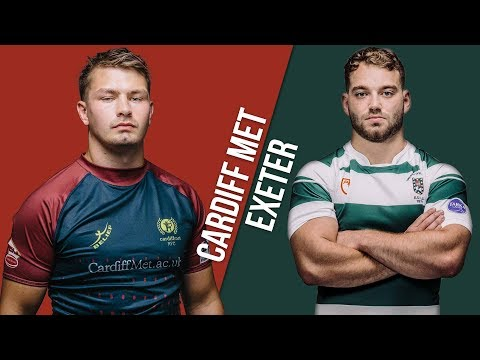 LIVE BUCS SUPER RUGBY 18/19: Cardiff Met Vs Exeter