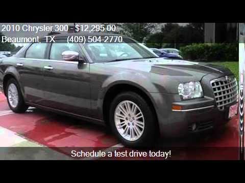 2010 chrysler 300 touring 4dr sedan w 23e for sale in beaumo youtube. Black Bedroom Furniture Sets. Home Design Ideas