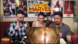 Captain Marvel Trailer 2 Reaccion!!!
