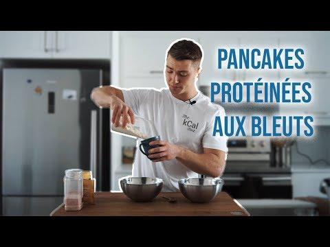 pancakes-protÉinÉs-aux-bleuets