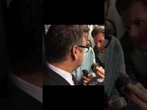 Buffalo Sabres Tim Murray after signing extension (10/13/16)