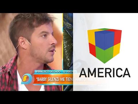 Francisco Delgado reveló la causa de su conflicto con Barby Silenzi
