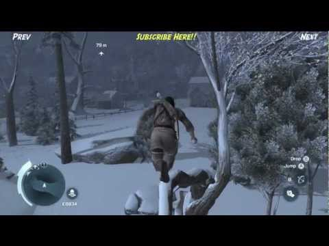 Assassin's Creed 3 Connor Fights Peter Bunyon & Attacks Enemy Convoy Story Part 19 [no commentary]