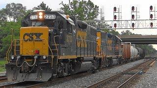 A Leslie RS5T Train Horn On A CSX EMD GP38-2