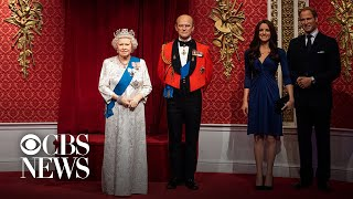 London's Madame Tussauds moves Meghan and Harry's wax figures