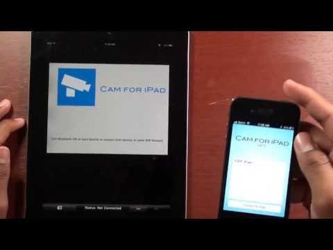 How To Use Iphone As Web/spycam For Ipad
