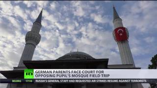 German parents may face court after refusing son's school trip to mosque