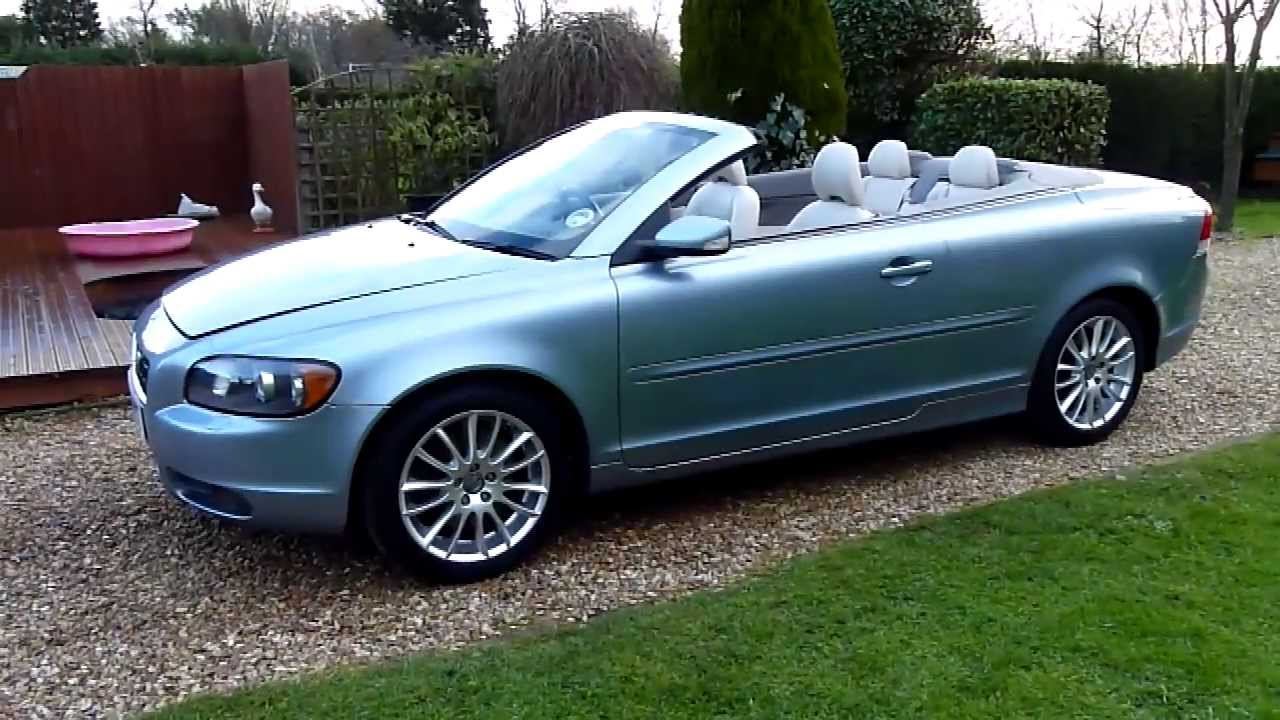 video review of 2006 volvo c70 2 4 se convertible for sale sdsc specialist cars cambridge youtube. Black Bedroom Furniture Sets. Home Design Ideas