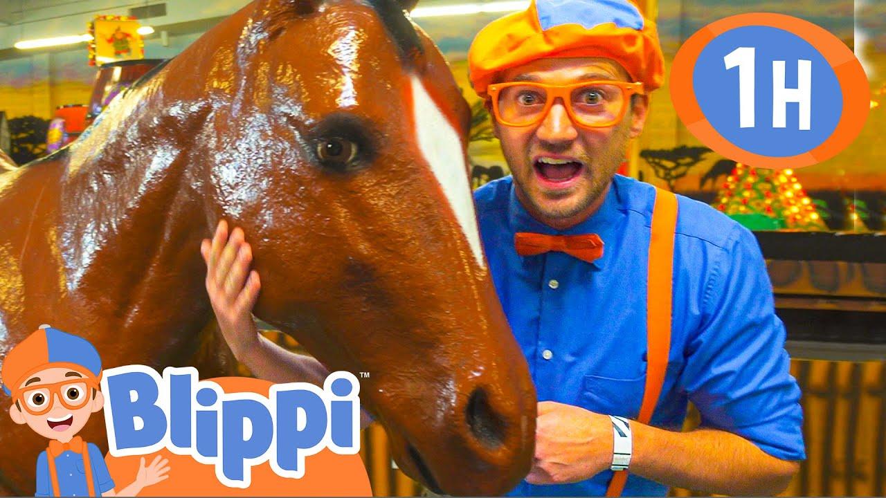Blippi Visits An Indoor Amusement Park +More Blippi Videos | Educational Videos For Kids