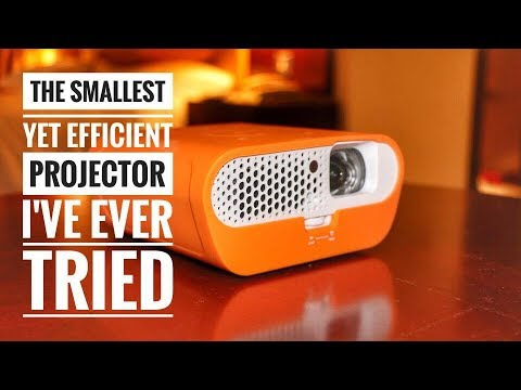 Review: The Small BenQ GS1 Portable Projector