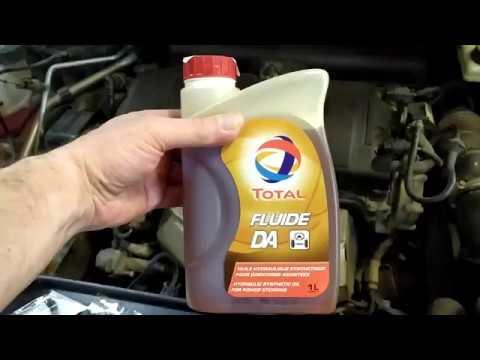 Замена масло в ГУР в Citroen C4 B7