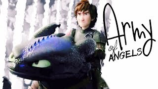 Hiccup & Toothless | Army of Angels
