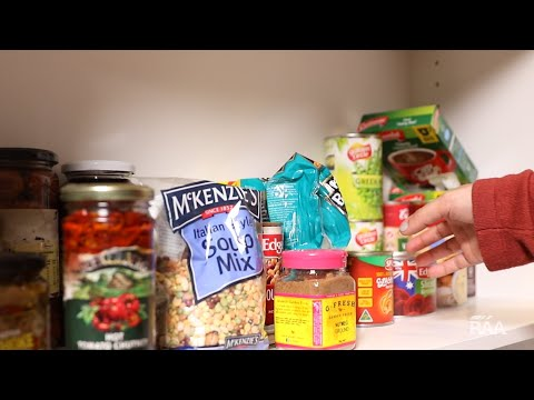 Revamp your kitchen pantry