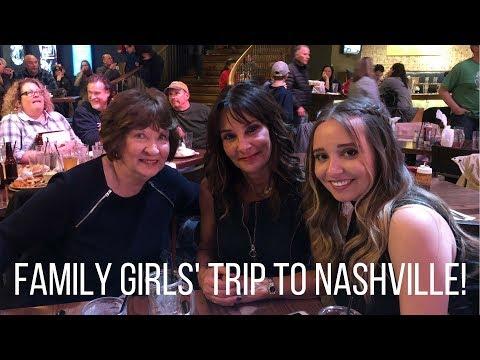 FAMILY GIRLS' TRIP! Nashville & BTS | Vlog | Ali Brustofski