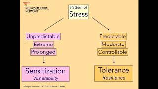1. Patterns of Stress & Resilience: Neurosequential Network Stress & Trauma Series