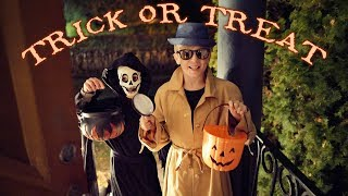Trick or Treat with Halloween Costumes (fun for kids)