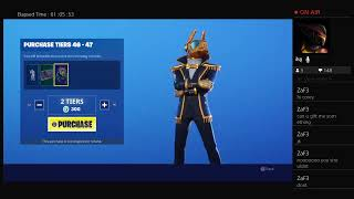 Fortnite Playing with subs[ New skins]