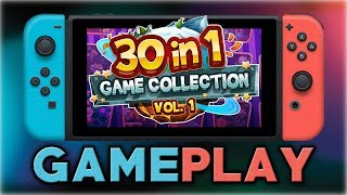 30-in-1 Game Collection: Volume 1   First 10 Minutes   Nintendo Switch