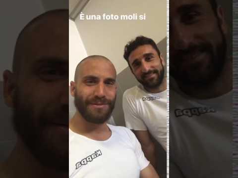 De Silvestri e Molinaro del Torino: una foto o un video?