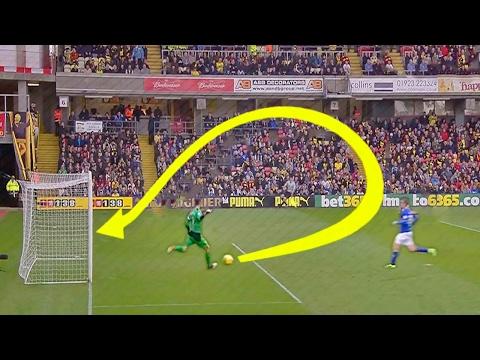 Смотреть ТОП 12 САМЫХ неожиданных голов в футболе онлайн