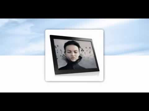 NIX 15 Inch Hi-Resolution Digital Picture Frame - YouTube