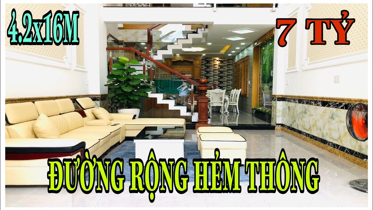 Bán nhà Tân Bình Tp.HCM[124😍] Nhà đẹp tặng full nội thất hẻm thông kinh doanh buôn bán giá rẻ.