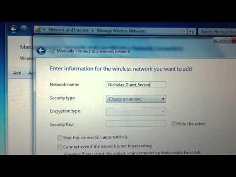 Connecting Windows 7 to WPA2 Enterprise