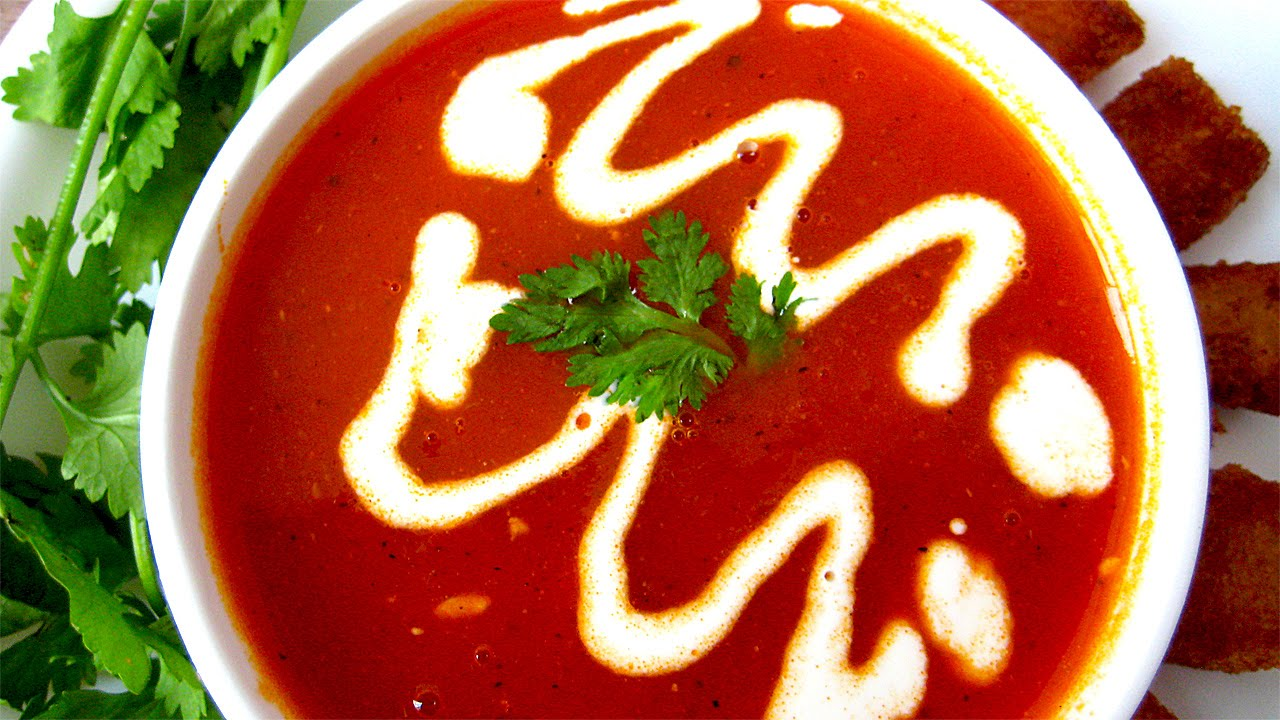 Tomato soup recipe in hindi by tomato soup recipe in hindi by sonia goyal jaipurthepinkcity youtube forumfinder Images