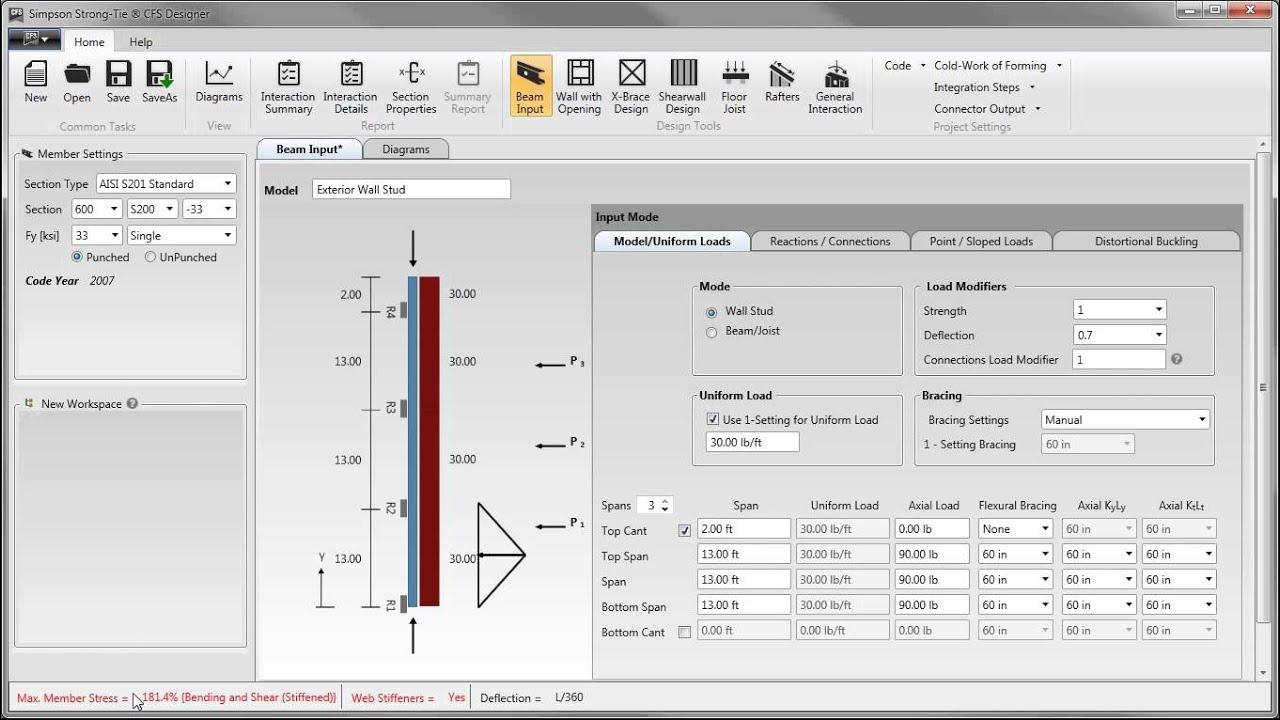 CFS Designer™ Software - Simpson Strong-Tie®