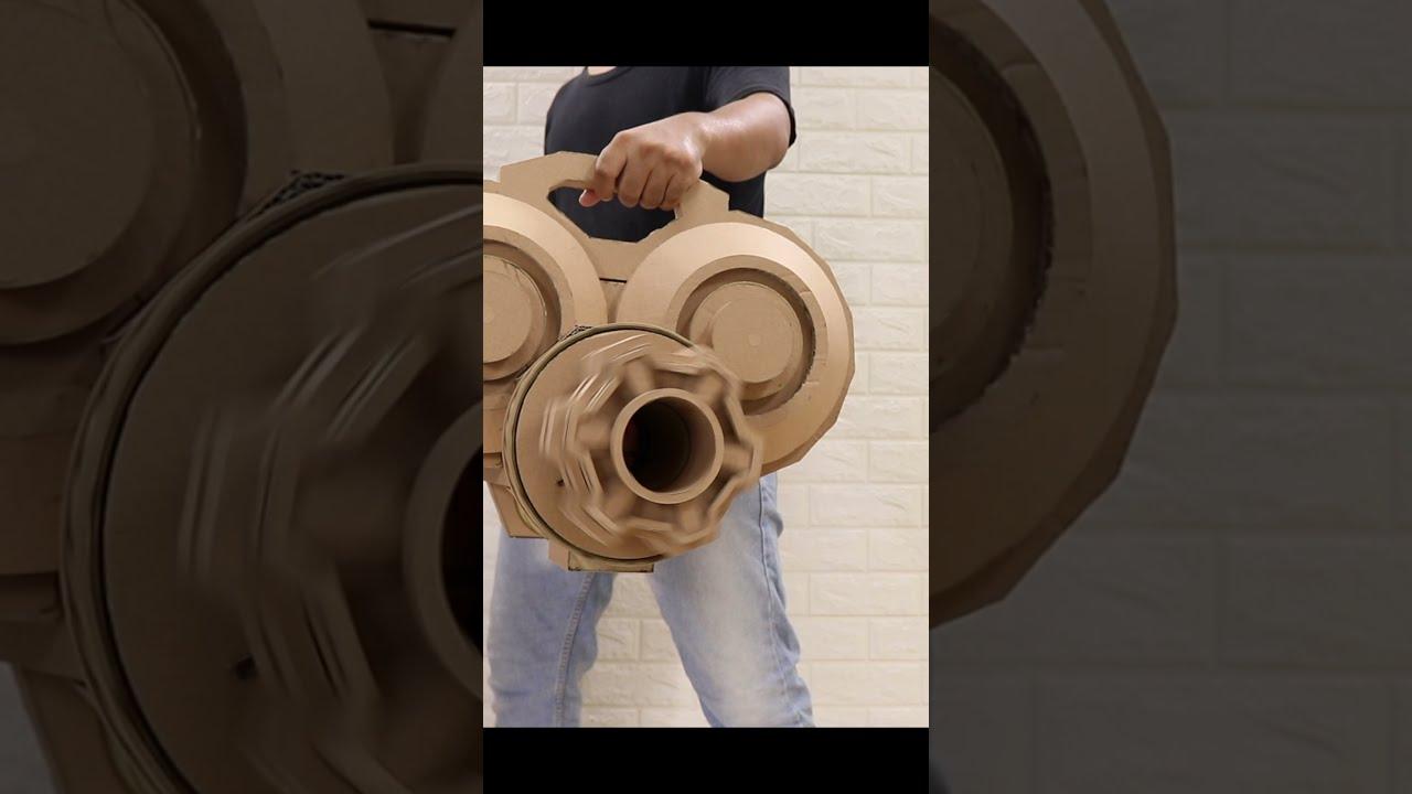 Thousand Balls Amazing DIY Cardboard Craft #Shorts