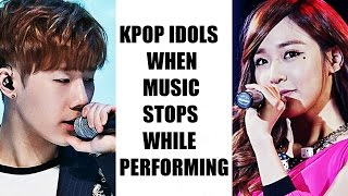 Video Kpop Groups When Music Stops While Performing On Stage download MP3, 3GP, MP4, WEBM, AVI, FLV September 2017