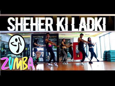 Sheher Ki Ladki   Easy Bollywood Zumba Dance