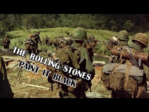 The rolling stones paint it black vietnam war youtube for The rolling stones paint it black