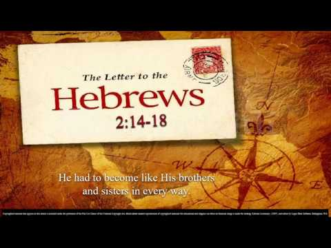 Presentation of the Lord – OT – A - Second Reading - Hebrews 2:14–18 – He