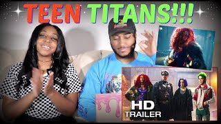 """TITANS"" Extended Trailer REACTION!!!"