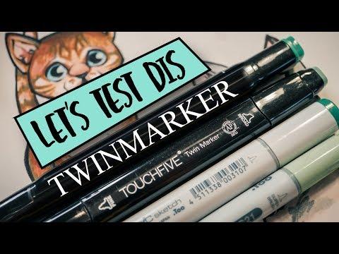 Twinmarker von Action vs. Copic Marker...