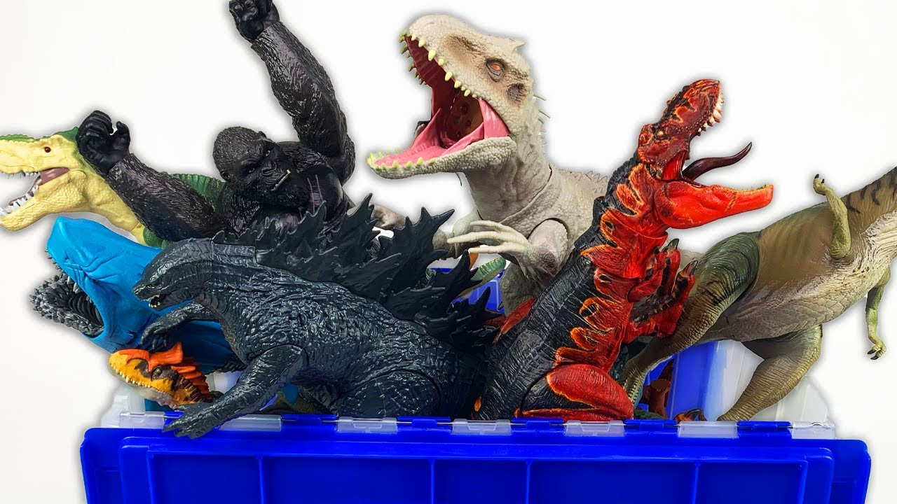 NEW Jurassic World 50+ Gallon Box Toy Haul! | 1 HOUR COMPILATION - Dinosaur Toys, Unboxings