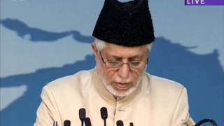 Urdu Speech: The Passion of the Promised Messiah (as) for the service of Islam - Jalsa UK 2013