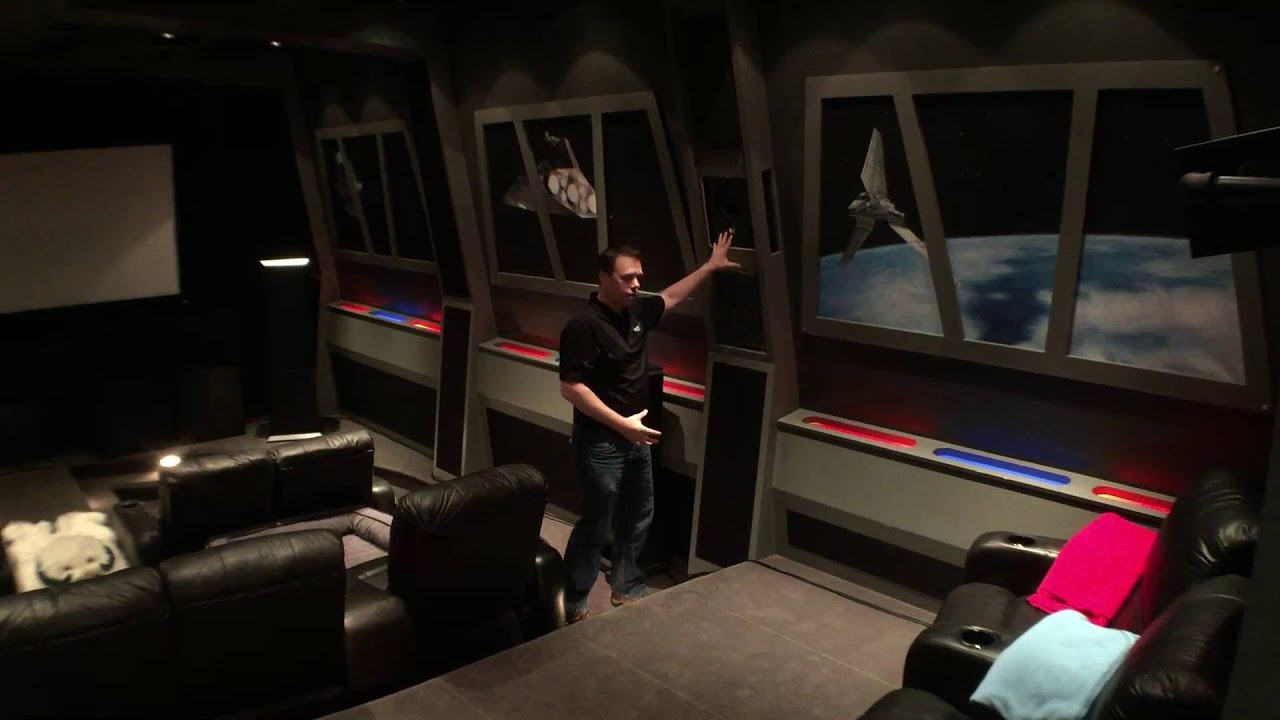 Star Wars Home Theater Renovation Intro  YouTube