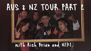 Rich Brian & NIKI Tour Vlog Pt. 2 | Escape Rooms & Kangaroo Fanny Packs?? | Melbourne, AUS