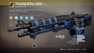 Come ottenere Signore del Tuono, nuova arma esotica! Destiny 2 #25
