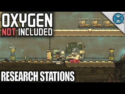 Oxygen Not Included | Research Station & Super Computer | Let's Play ONI Gameplay | S01E02