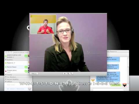 How to Register Your iChat to Make VRS Calls!
